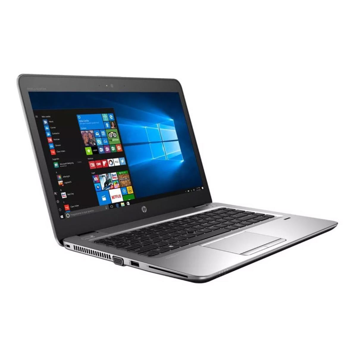 "Art. Portátil HP Elitebook 840 G3 GRADO B SIN CAMARA (Intel Core i7 6600u 2.6Ghz/8GB/240SSD/14""/NO-DVD/W8PRO) Preinstalado"